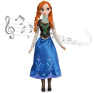 Läs mer om Anna från Frost, sjungande docka