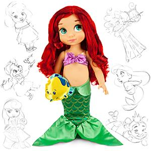Läs mer om Den lilla sjöjungfrun docka