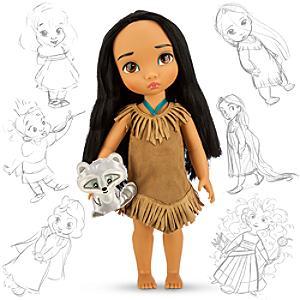 Läs mer om Pocahontas docka