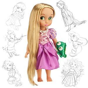 Läs mer om Rapunzel docka