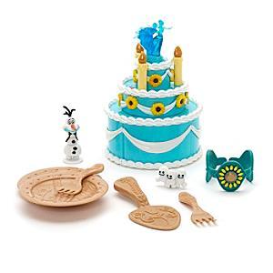 Läs mer om Frostfeber Anna lekset med födelsedagstårta