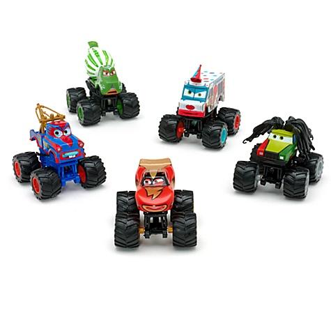 Ensemble de figurines de luxe Monster Truck Disney Pixar Cars