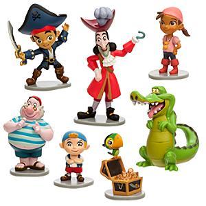 Läs mer om Jake och piraterna från Landet Ingenstans figurer