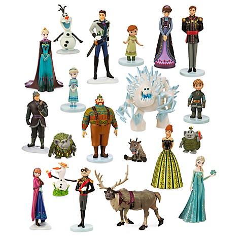 Méga Ensemble de figurines la reine des neiges