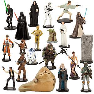 Läs mer om Star Wars stort lekset med figurer