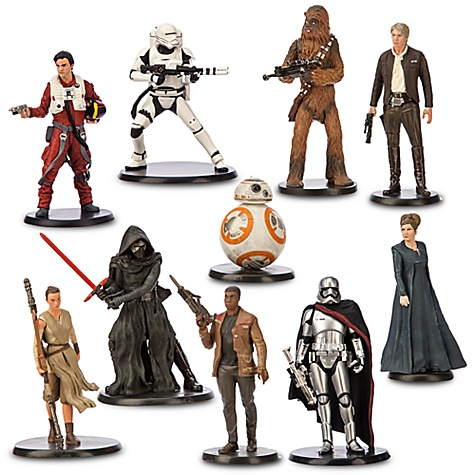 Ensemble de figurines de luxe Star Wars : Le Réveil de La Force