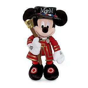 Micky Maus - Kuscheltier in Uniform der königlichen Leibgarde mittelgroß