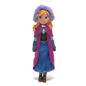 Läs mer om Anna från Frost, gosedjursdocka