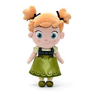 Läs mer om Anna från Frost som liten, liten gosedocka