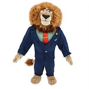 Läs mer om Zootropolis borgmästare Lionheart gosedjur