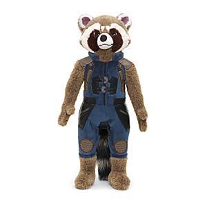 Läs mer om Rocket Raccoon medelstort gosedjur, Guardians of the Galaxy 2