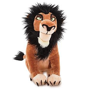 Läs mer om Scar medelstort gosedjur, Lejonkungen