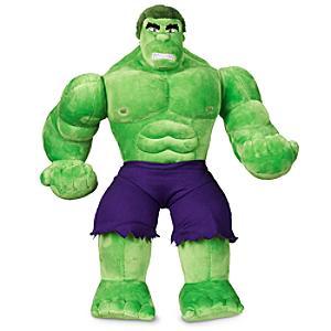 Läs mer om Hulk medelstor gosedocka