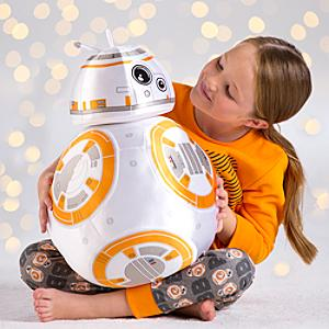 Läs mer om BB-8 stort gosedjur, Star Wars: The Force Awakens
