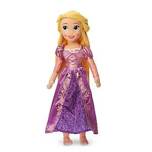 Läs mer om Rapunzel medelstor gosedocka
