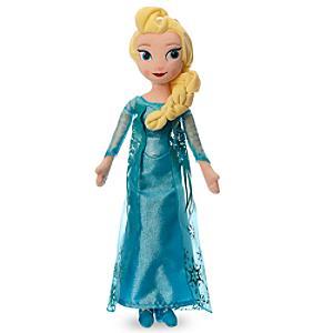 Läs mer om Elsa från Frost, gosedjursdocka