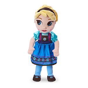 Läs mer om Elsa liten gosedocka, Disney Animators Collection