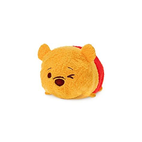 Mini peluche Tsum Tsum Winnie l'Ourson clignant de l'oeil
