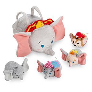 Läs mer om Dumbo Tsum Tsum väska och gosedjursset