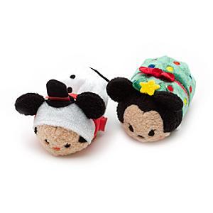 Läs mer om Musse och Mimmi Tsum Tsum små julgosedjur
