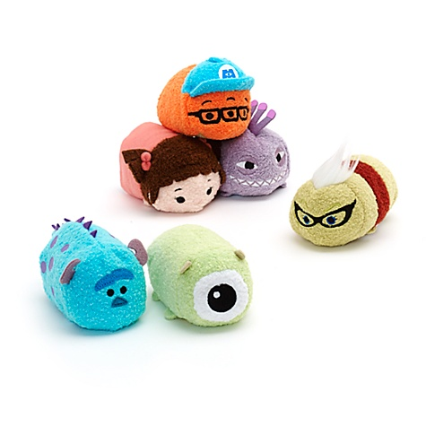 Collection mini Tsum Tsum Monstres & Cie