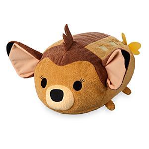 Läs mer om Bambi med fjäril Tsum Tsum medelstort gosedjur