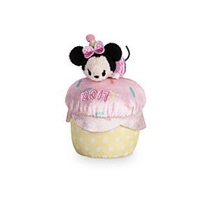Läs mer om Parfymerad Tsum Tsum-cupcakeleksak med Mimmi Pigg-minigosedjur