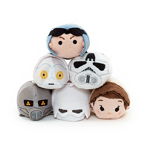 Collection de peluches Tsum Tsum miniatures Star Wars Hoth
