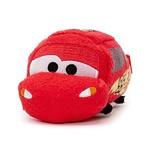 Lightning McQueen Tsum Tsum Mini Soft Toy Disney Pixar Cars 3