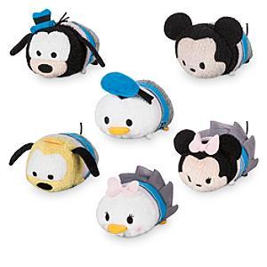 Läs mer om Disney Store 30-årsjubileum, Tsum Tsum-minigosedjur, set i 6 delar