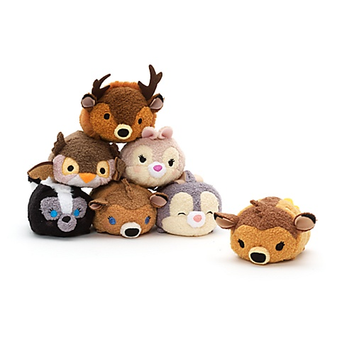 Mini peluche Bambi de la collection Tsum Tsum