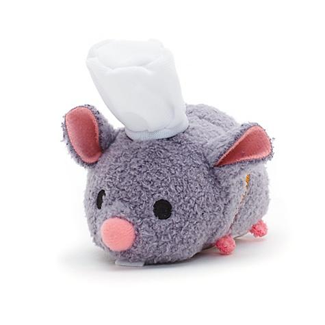 Peluche miniature Tsum Tsum Rémy, collection Ratatouille