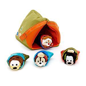 Image of Micro set tenda da campeggio e peluche Tsum Tsum