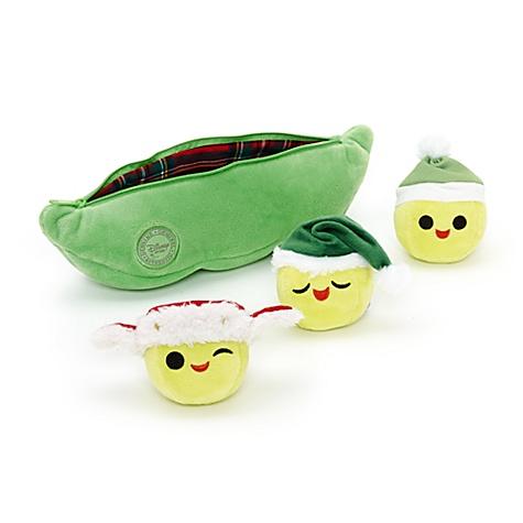 Ensemble de mini peluches de Noël Les Petits Pois de Toy Story 3