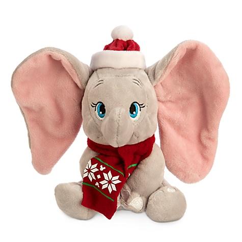 Mini peluche Dumbo Noël