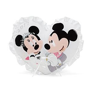 Läs mer om Musse och Mimmi Pigg hjärtformad bröllopskudde