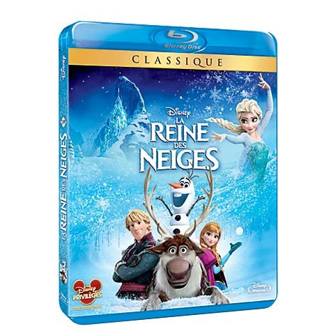 Blu-Ray La Reine des Neiges