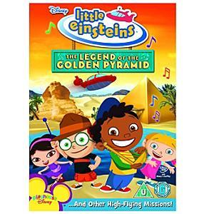 Little Einsteins Legend of the Golden Pyramid DVD