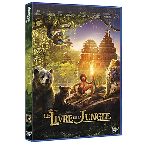 DVD Le Livre de la Jungle