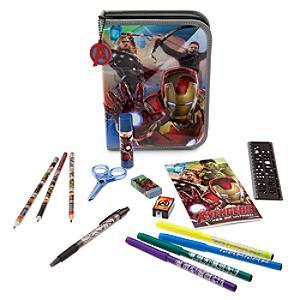 Läs mer om Avengers pennfodral med pennor