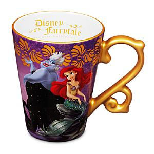 Läs mer om Ariel och Ursula mugg, Disney Fairytale Designer Collection