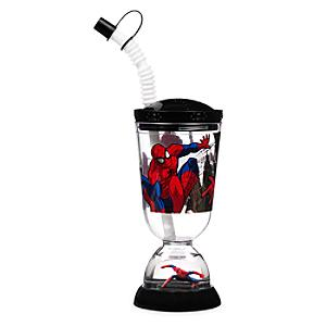 Läs mer om Spiderman dricksglas i timglasform