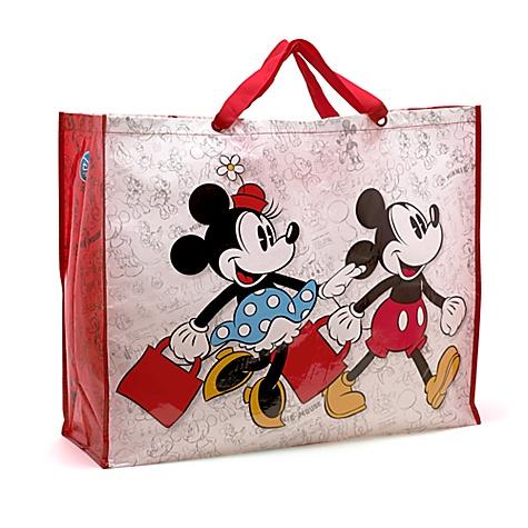 Sac shopping Mickey et Minnie, très grande taille