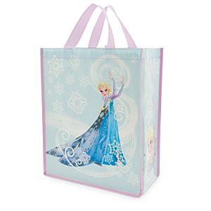 Läs mer om Frost Elsa återanvändningsbar shoppingväska