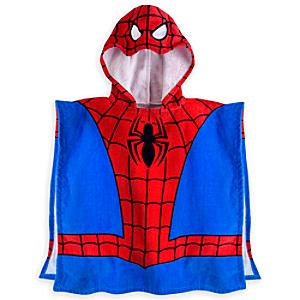 spider-man-hooded-towel