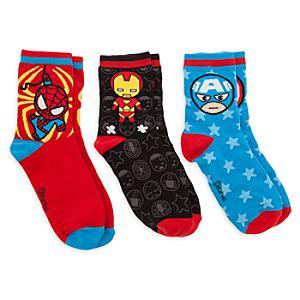 Läs mer om Marvel MXYZ sockor i damstorlek, 3 par