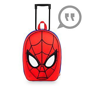 Läs mer om Formgjuten Spider-Man-rullväska med ljud