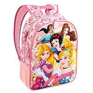Läs mer om Disney Prinsessor glitterryggsäck