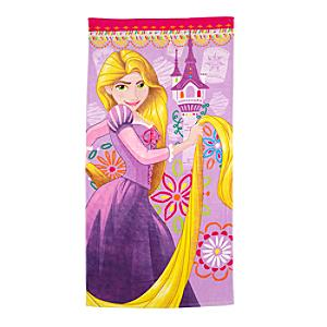 rapunzel-beach-towel