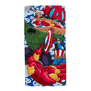 Läs mer om Avengers badhandduk
